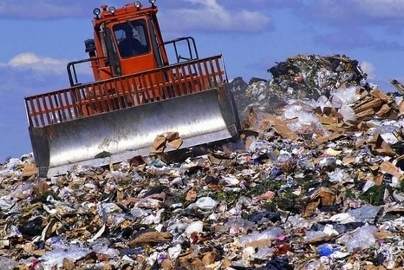 полигон мусор