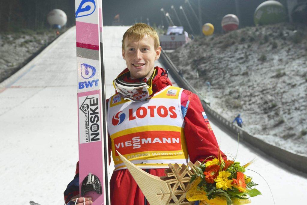 Лыжник Евгений Климов одержал историческую победу