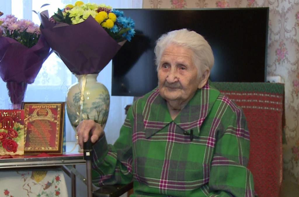 Пенсионерка из Перми отметила 100-летний юбилей