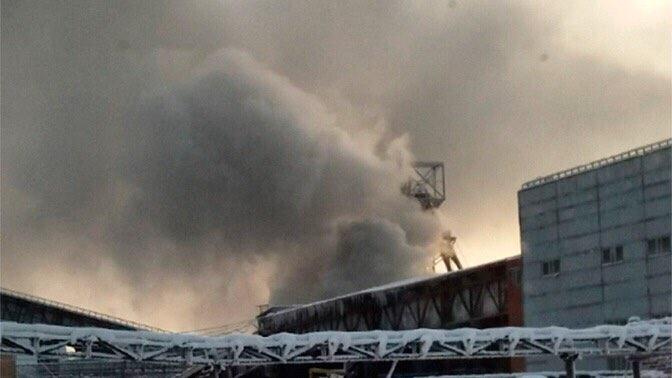 На шахте в Прикамье произошло возгорание